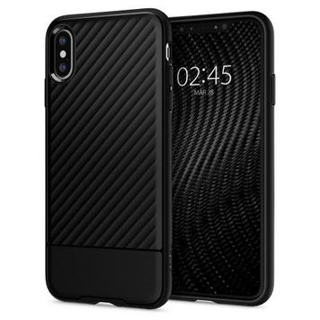 Чехол Spigen для iPhone XS Core Armor Black