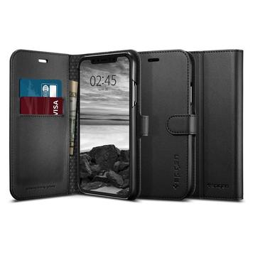 Чехол Spigen для iPhone XR Wallet S Black