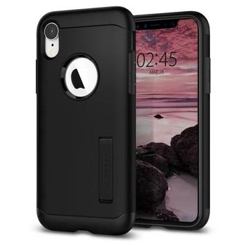 Чехол Spigen для iPhone XR Slim Armor Black