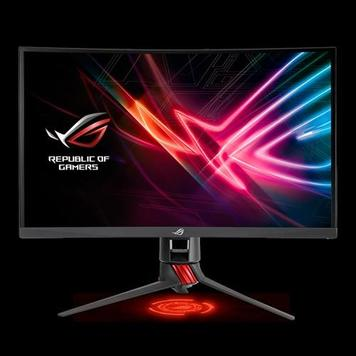 "Монитор LCD 27"" Asus ROG STRIX XG27VQ DVI, HDMI, DP, Audio, 1920x1080, VA, CURVED, 1ms, Adaptive-Sync"