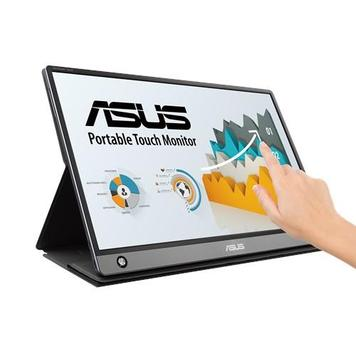 "Монитор LCD 15.6"" Asus ZenScreen MB16AMT MicroHDMI, USB-C, MM, IPS, 1920x1080, 7800mAh, Touch Screen"