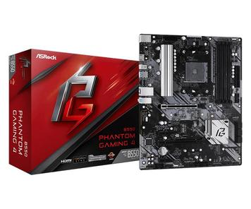 Материнская плата ASRock B550 PHANTOM GAMING 4 sAM4 B550 4xDDR4 HDMI M.2 ATX