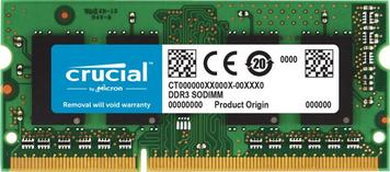 Память для ноутбука Micron Crucial DDR3 1866 4GB SO-DIMM 1.35/1.5V for Mac