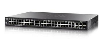 Коммутатор Cisco SX550X-52 52-Port 10GBase-T Stackable Managed Switch